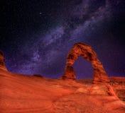Bogen-Nationalpark in Moab Utah USA Lizenzfreie Stockfotografie
