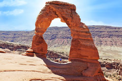 Bogen-Nationalpark Utah Lizenzfreie Stockbilder