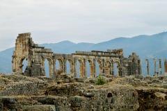 Bogen und Spalten von Roman Empire-Stadt Lizenzfreies Stockfoto