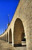 Bogen van viaduct in portret Stock Fotografie
