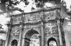 Bogen von Constantine, Rom Stockfoto