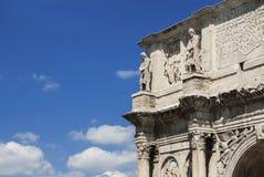 Bogen von Constantine in Rom Lizenzfreie Stockfotos