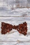 Bogen von den Kaffeebohnen Lizenzfreie Stockfotos