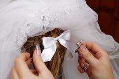 Bogen zur Braut Stockfotos