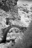 Bogenbrücke Stockfoto