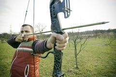Bogenschütze Lizenzfreie Stockfotografie