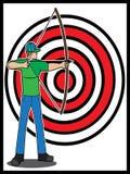 Bogenschütze Stockbild