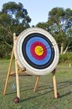 Bogenschießen-Schießen-Ziel Stockbilder