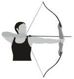 Bogenschießen-Sport Stockfotos