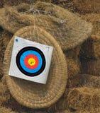 Bogenschießen - Ziel. Lizenzfreie Stockfotos