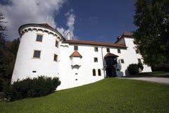 bogensperk城堡斯洛文尼亚 库存图片