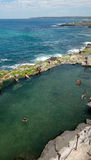 The Bogey Hole, Newcastle, NSW Australia. Also known as Commanda Royalty Free Stock Photography