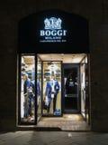 Boggi商店在米兰 库存图片