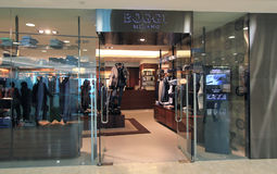 Boggi Milano shop in hong kong Stock Photos