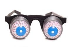 Boggled eyed glasses Stock Images