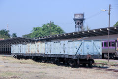 Bogie High Sided Wagon Stock Image
