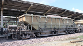 Bogie Hopper Wagon no.42041 Royalty Free Stock Photography