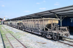 Bogie Hopper Wagon no 42035 Royalty Free Stock Image