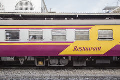 Bogie Restaurant Car Stock Photography
