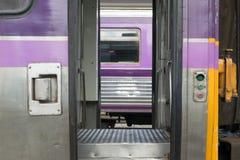 Between bogie of Thai train Stock Image