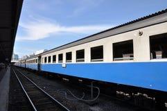 Bogie Train Long Day Stock Photos
