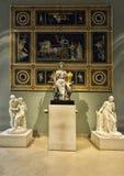 Bogini Athena w Muzealny louvre, Paryż zdjęcie royalty free