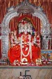 Bogini Durga w marmuru kamieniu India Zdjęcie Royalty Free