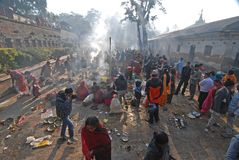 bogini Kathmandu utrzymanie Zdjęcie Stock