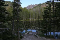 Boginka jezioro Vista zdjęcia stock