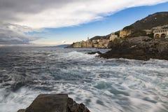 Bogliasco στη Λιγυρία Ιταλία Στοκ εικόνα με δικαίωμα ελεύθερης χρήσης