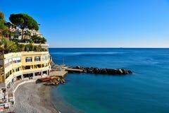 Bogliasco Genova Italia fotografie stock libere da diritti