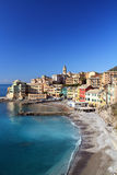 Bogliasco overview, Italy Royalty Free Stock Photography