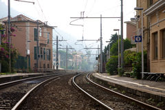 Bogliasco Train Station Royalty Free Stock Photography