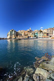 Bogliasco - vertical composition Royalty Free Stock Photography