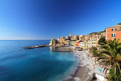 Bogliasco village, Italy Stock Photo