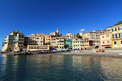 Bogliasco village, Italy Royalty Free Stock Images