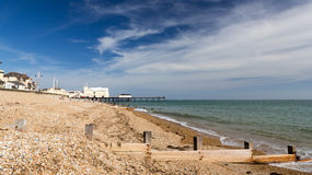 Bognor Regis Beach Royalty Free Stock Images