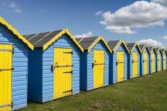 Bognor Regis Beach Huts Stock Image