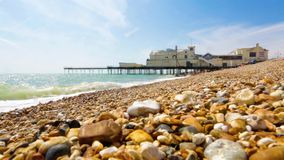 Bognor Regis Pier stock video footage