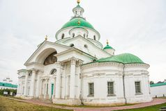 bogolyubovo女修道院夏天视图 库存图片