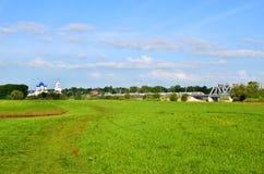 Bogolyubovo, paesaggio della molla Fotografia Stock