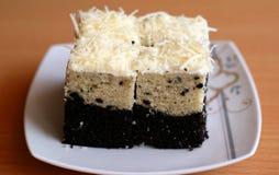 Bogor Layered Taro Cake Stock Photo