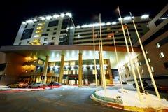 Bogorodino hotel at night Stock Photos