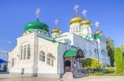 Bogoroditsky monastery male Raifa Kazan Russia Stock Photography