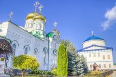 Bogoroditsky monastery male Raifa Kazan Russia Stock Image