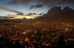Bogotá antes de uma tempestade Imagens de Stock
