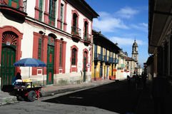 Bogotá - La Candelaria Foto de archivo