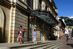 Bogotá - La Candelaria Imágenes de archivo libres de regalías
