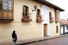 Bogotá - La Candelaria Foto de archivo libre de regalías