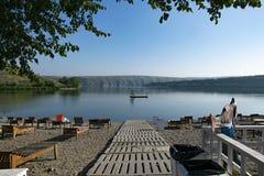 bogotà carpati的乌克兰河 库存照片